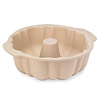 Pampered Chef Stoneware Fluted Pan