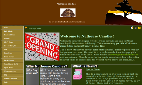 Nut House Candles