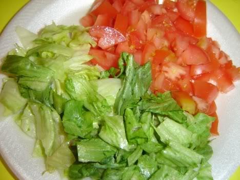 Lettuce & Tomatoe