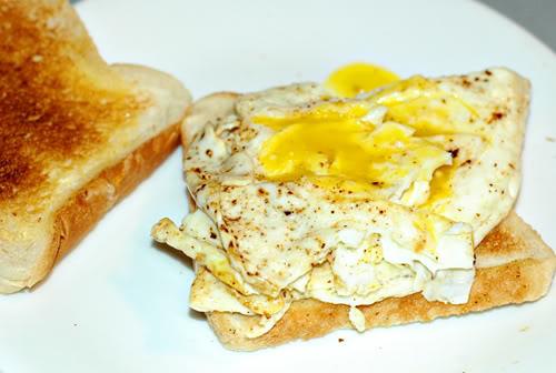 Eggs on Toast