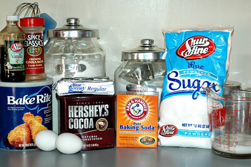 Sheet Cake Ingredients