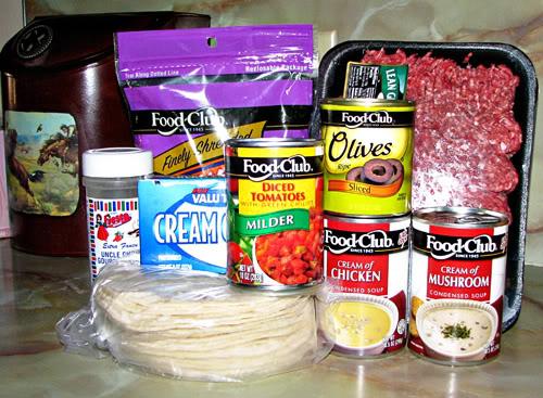 King Ranch Ingredients