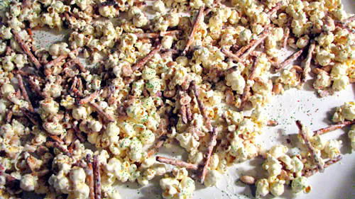Popcorn Mixture spread