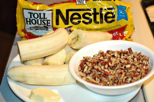 Banana Popsicles ingredients