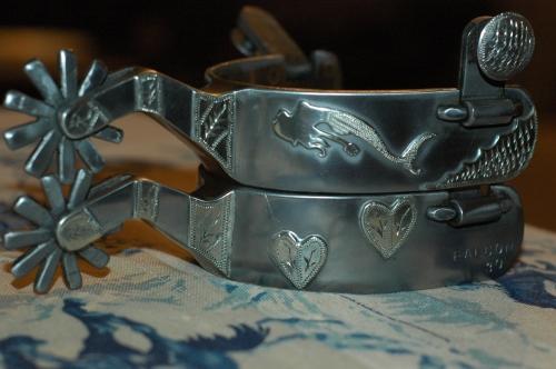 Handmade Cowboy Spurs – Mermaid
