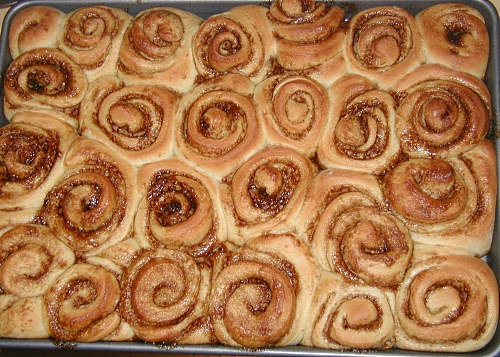 Cinnabons Cooked