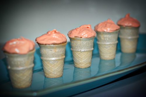 Ice Cream Cupcakes Cones