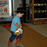 Dandy's Western Wear One Man Rodeo Show
