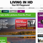 Panasonic&#039;s Living in HD community