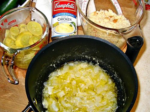 Squash Dressing Ingredients