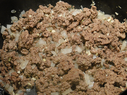 Ground Beef for Baked Ziti