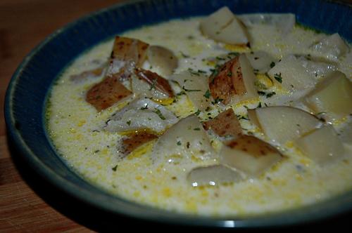 Potato Soup or Tater Soup