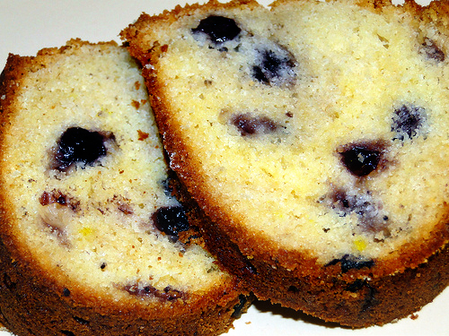 Blueberry Poundcake
