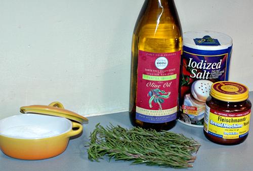 Rosemary Focaccia Bread  Ingredients