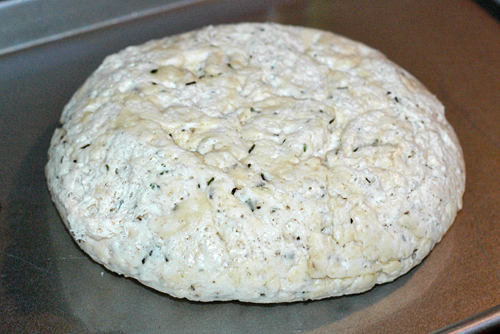 Rosemary Focaccia Bread dough