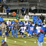 Post-game football prayer