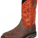 Square Toe Ariat WorkHogs!  'Bout Time
