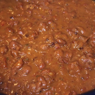 My Cowboy's Slow Cooked Beans