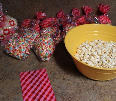 Quick Fix! Valentine's Day Popcorn Bags