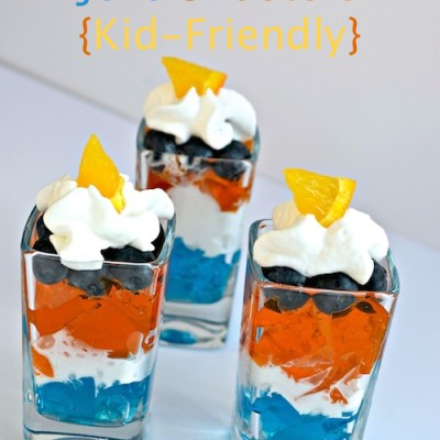 Denver Broncos Jello Shooters for Football Fans! {Kid-Friendly}
