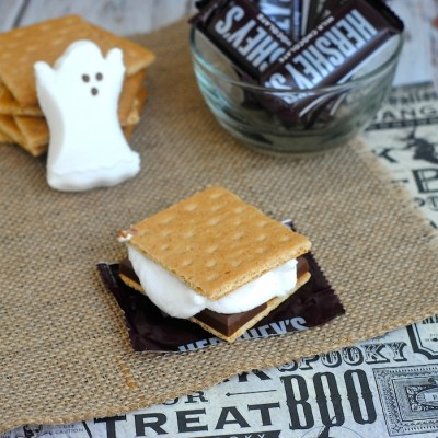 Easy Ghost S'mores