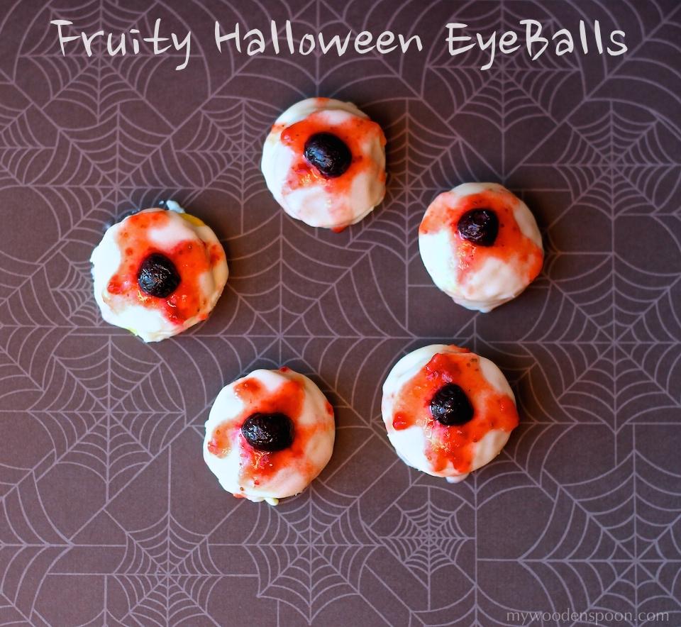 Fruit Halloween EyeBalls Treat