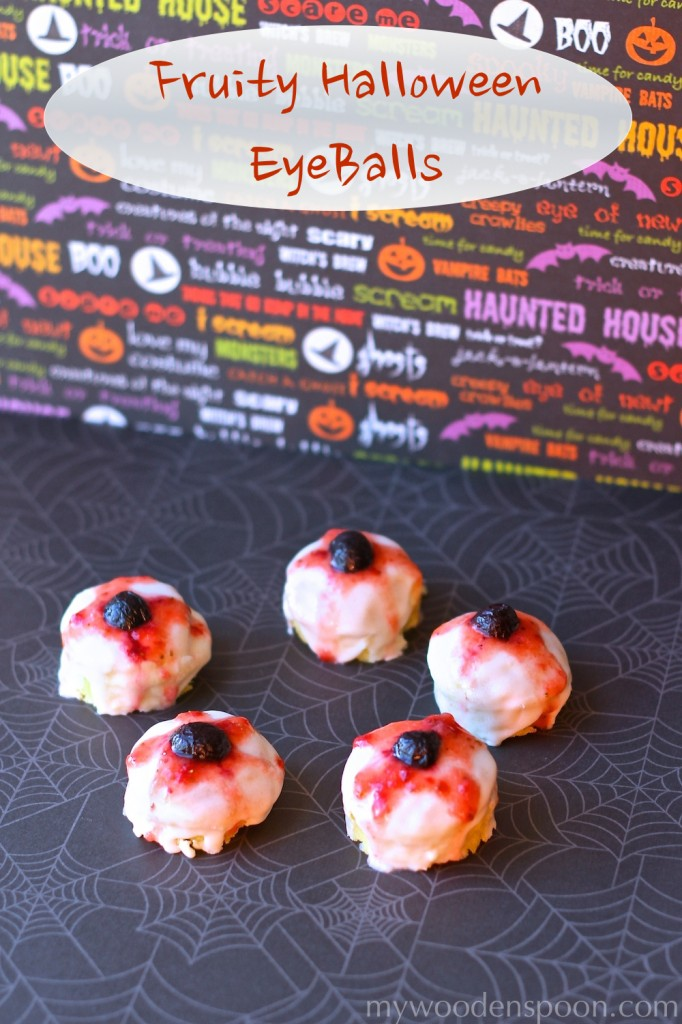 Fruity Halloween EyeBalls at MyWoodenSpoon.com