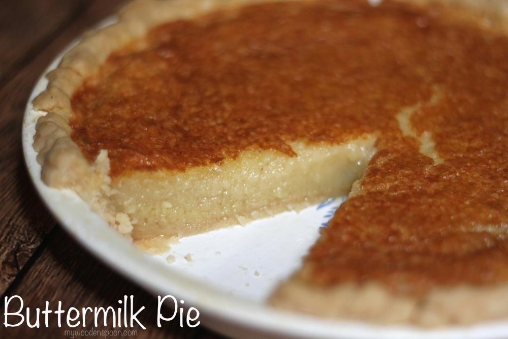 Buttermilk Pie Recipe for Thanksgiving