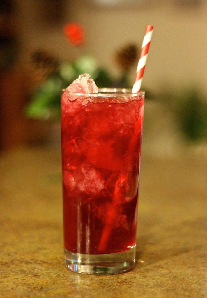 Bud Light Lime Cran-Brrr-Rita's Festive Beverage
