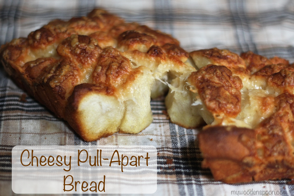 Easy Cheesy Pull-Apart Bread