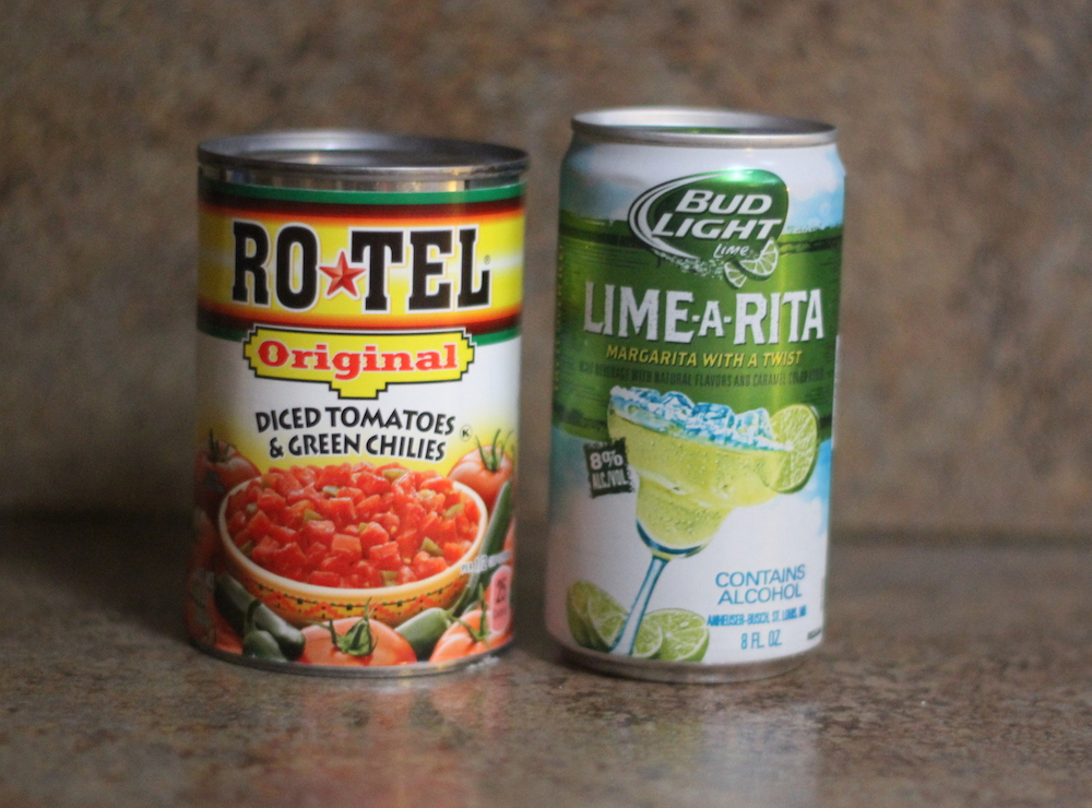 RO*TEL and Bud Light Lime*Rita