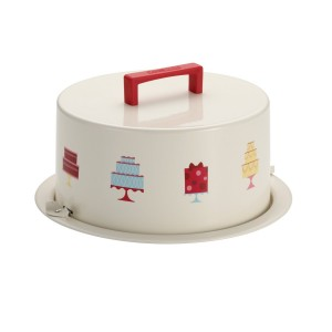 Cake Boss Serverware metal Cake carrier