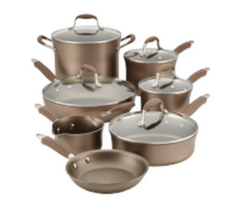 OVER Win a Beautiful, Bronze Anolon Cookware Set Valued at $299!