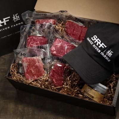 American Beef or Pork Gift Boxes from Snake River Farms