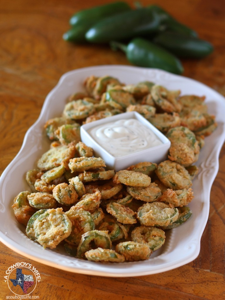 Fried Jalapenos