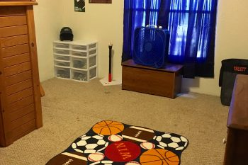 Truett's Bedroom Makeover on a Budget – Sports Theme