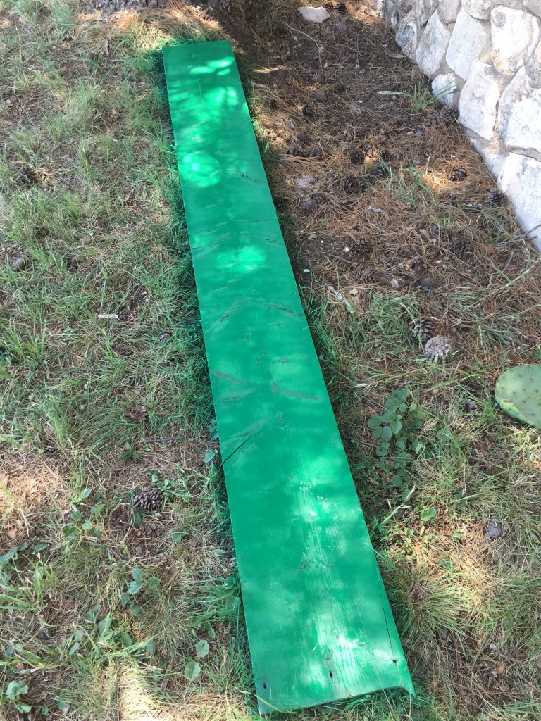 green paint growth chart