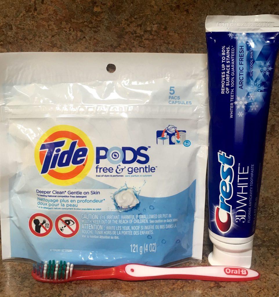 P&G college necessities
