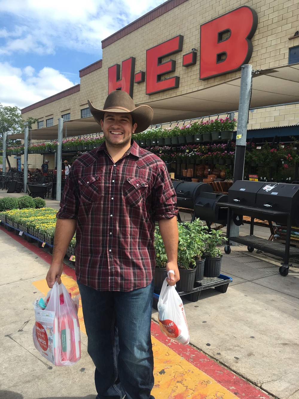 Toby at HEB