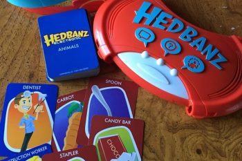 Family Fun with Hedbanz™ Electronic Game