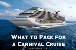 What Should I Pack for a Cruise?