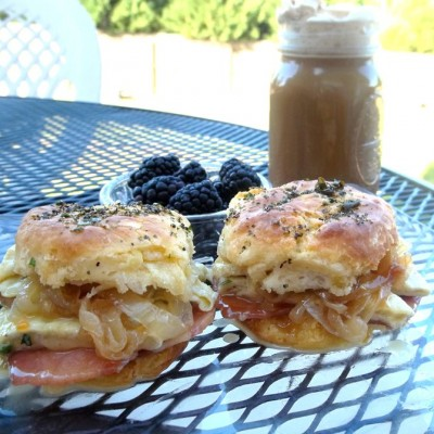 Healthy For the Soul Egg Biscuits
