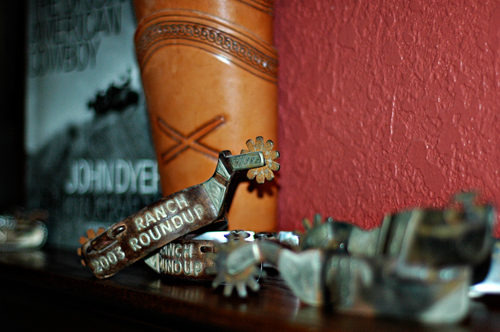 Cowboy Decor with a Story