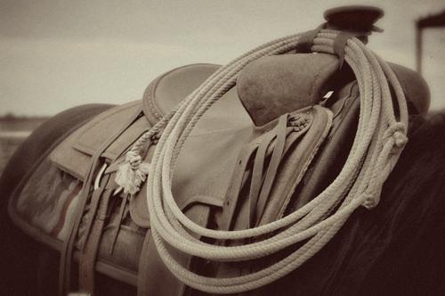 Vintage saddle