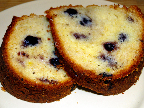 Blueberry Poundcake Bundt