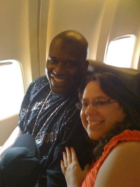Shaquille Oneal and A Cowboy's Wife