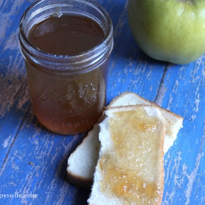 Making Apple Jalapeno Jelly