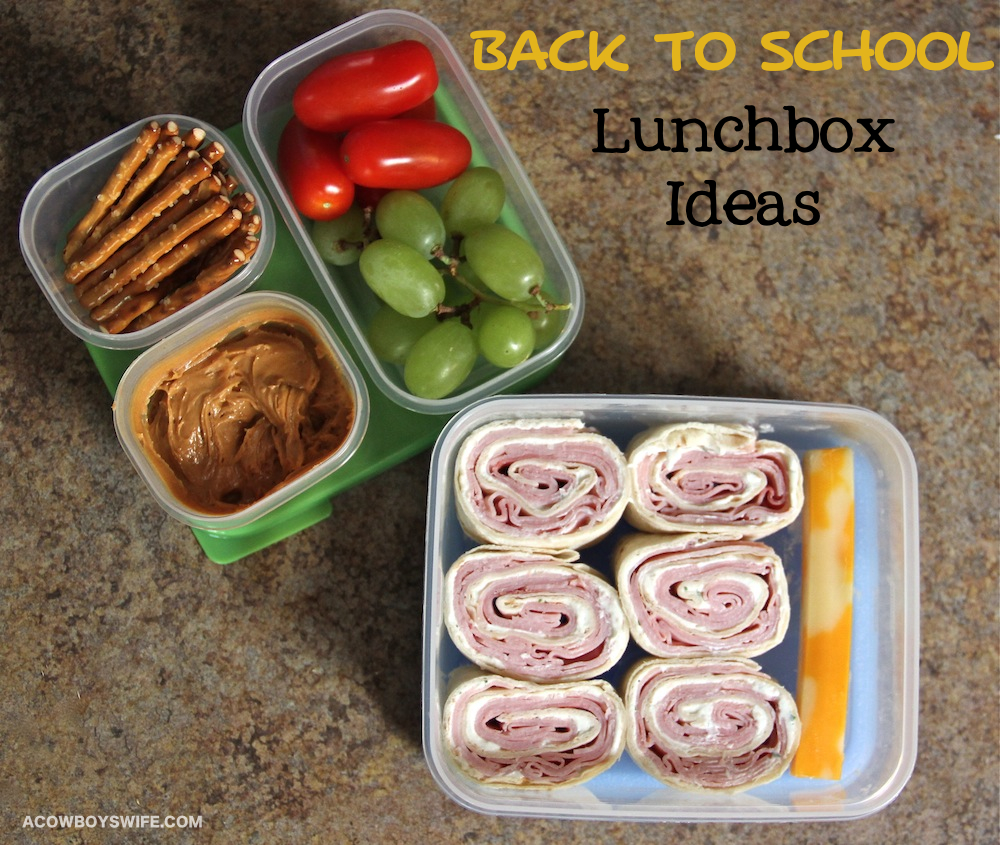 Back to School lunchbox food ideas