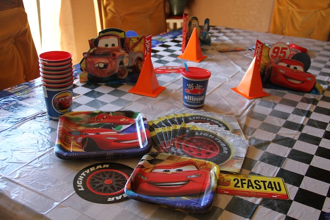 CARS birthday party2
