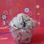Cherry-blueberry ice cream